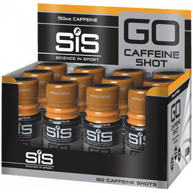 SiS GO Caffeine Shot Caja 12x60ml, Tropical